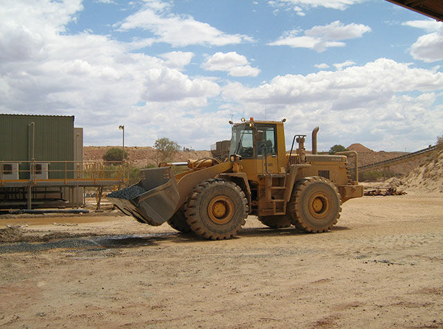 Front end loader training Perth, Australia